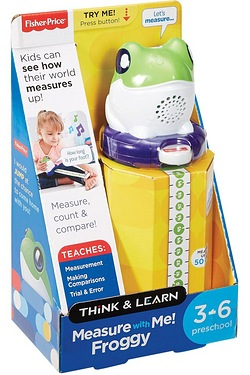 Think and Learn Measure With Me! Froggy