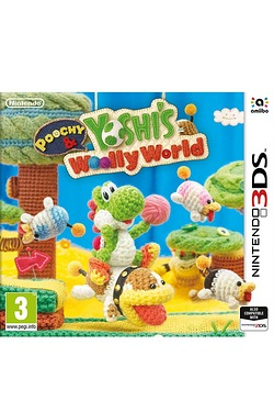Nintendo 3DS: Poochy and Yoshis Woolly World