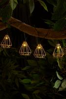 Compare retail prices of 10 Bulb LED Solar Geo String Lights - Warm White to get the best deal online