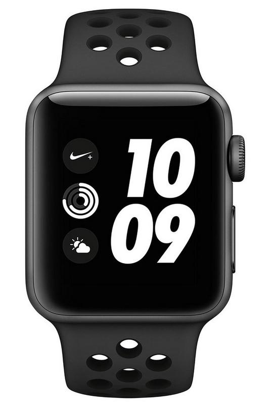 Compare retail prices of Apple Watch Nike Series 3 38mm GPS Watch to get the best deal online