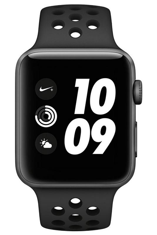 Compare retail prices of Apple Watch Nike Series 3 42mm GPS Watch to get the best deal online