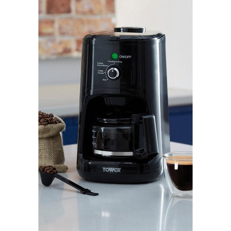 Tower Bean to Cup Coffee Machine