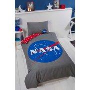 NASA ISA Missions Single Duvet Cover Set Reversible Bedding