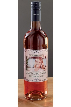 Personalised Rose Wine