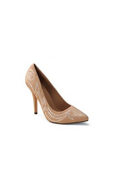 AX Paris Stud Detail Court Shoe