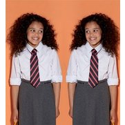 Girl's Pack Of 2 Open Neck Long Sle...