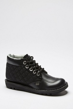 Kickers Hi Diamond Quilt Shoe