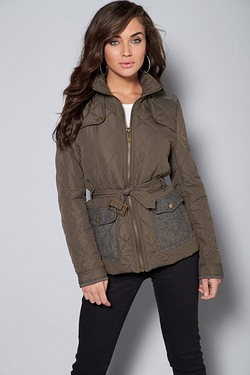 AX Paris Quilted Jacket