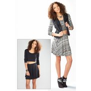 Adore Pack Of 2 Skater Skirts