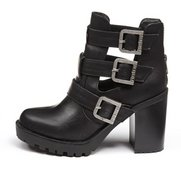 Firetrap 'Quena' Cut Out Ankle Boot