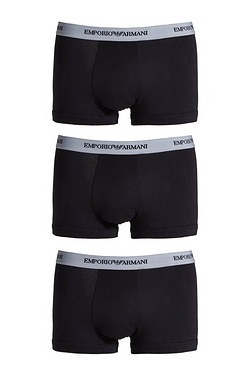 Armani Pack Of 3 Boxers