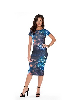 Rock And Revival Panelled Dress