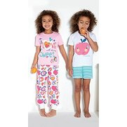 Girls' Pack Of 2 Apple Pyjamas