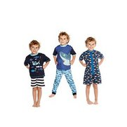 Boys 5-Piece Shark Pyjama Set