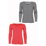 Yourstyle Pack Of 2 Long Sleeve T-S...