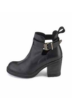 Bronx Cut Out Ankle Boot