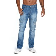 Crosshatch Straight Leg Jean
