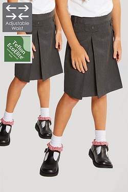 Pack Of 2 Adjustable Pleated Skirts