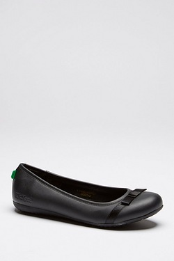 Kickers Verda Bow Ballet Shoe