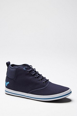 Voi Mid Cut Canvas Trainer