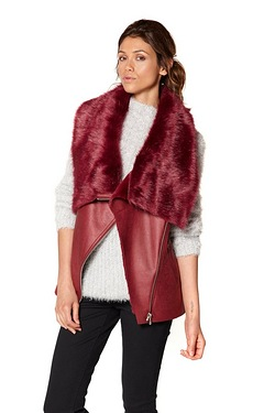 Be You Faux Fur Gilet