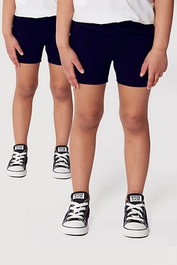 Kid's Pack Of 2 Cycling Shorts