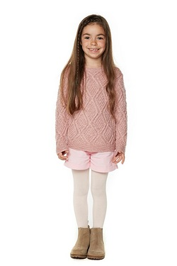 Girls 2-Piece Shorts Set Plus Tights