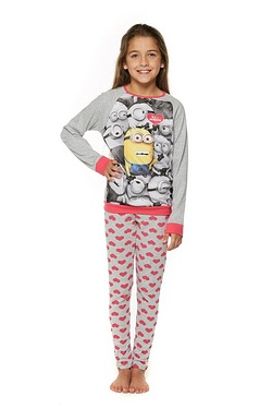 Girls Minion Pyjamas