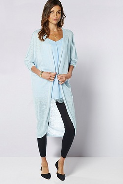 Be You Longline Cocoon Cardigan