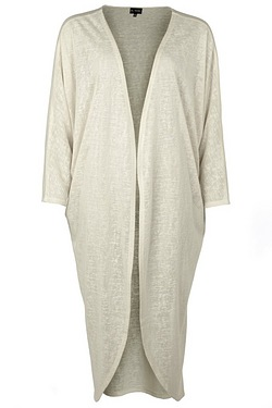 Just Me Longline Cocoon Cardigan