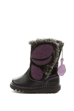 Girls Kickers Butterfly Infant Boot