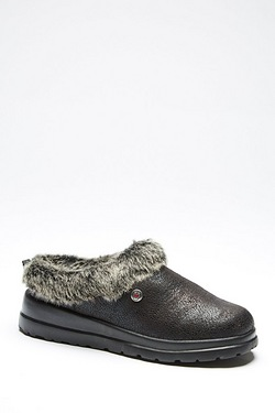 Skechers Faux Fur Mule Slipper