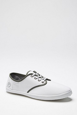 Firetrap Scene Canvas Pump