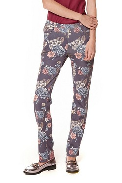 Be You The Printed Trousers - Charc...