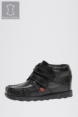 Boys Kickers Fragma Strap Boot