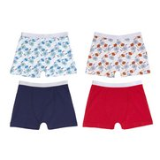 Boys Pack Of 4 Pow Boxers
