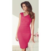 Lipsy MK Asymmetric Pleat Top Dress