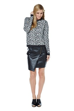 Poppy Lux Jasmine Leopard Sweater