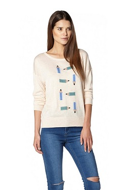 Poppy Lux Matilda Pencil Jumper