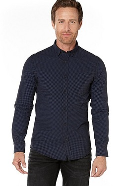 Thomas Gee Printed Single Collar Shirt
