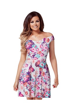 Jessica Wright Amelie Skater Dress