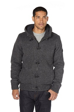 Dissident Sherpa Hooded Lined Knit