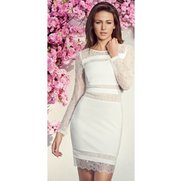 Lipsy MK Lace Panel Dress