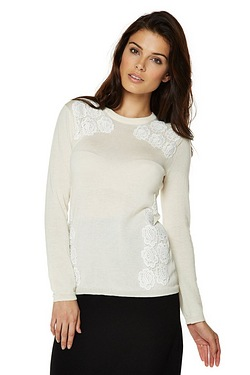 Be You Lace Detail Sweater