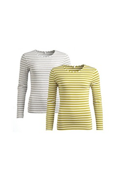 Be You Pack Of 2 Long Sleeved T-Shirts