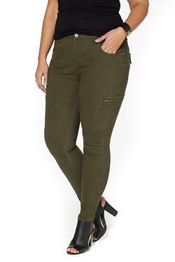 Just Me Cargo Jegging Combat Trouser
