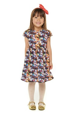 Girls Bauble Dress