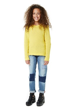 Older Girls Patchwork Jean