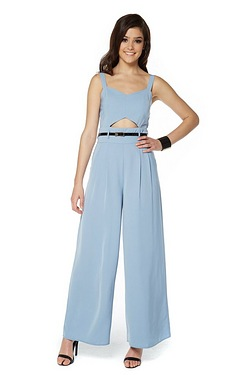 Girls On Film Cut Out Jumpsuit