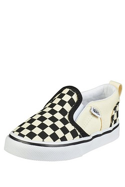 Boy's Vans Asher Slip-On Trainer